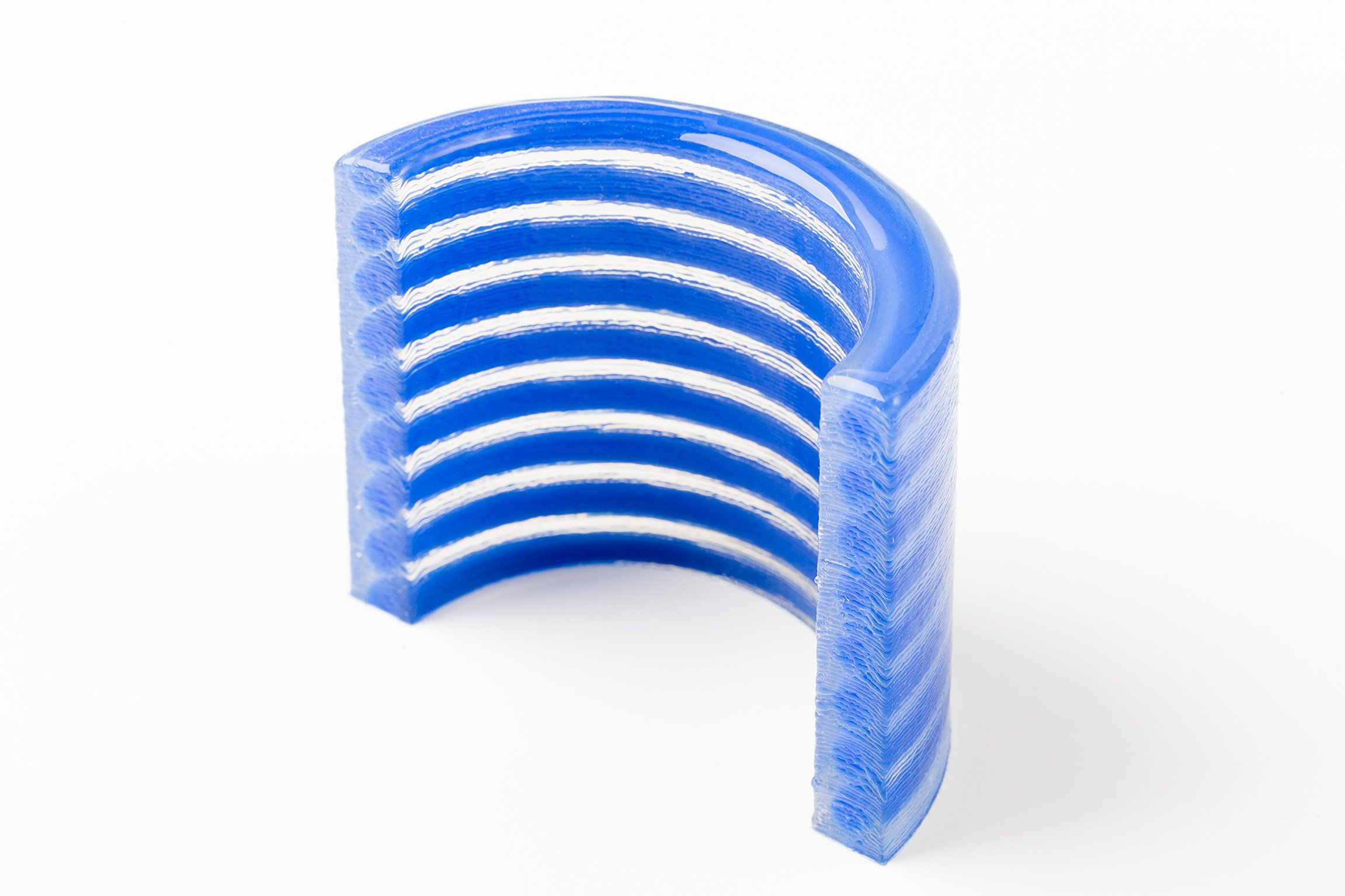 ACEO silicone 3D-printed part