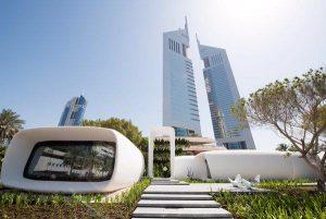 Dubai office 3D printed building