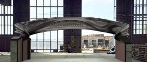 3D printed steel bridge project