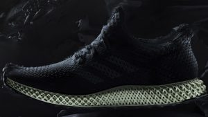 Adidas Futurecraft 4D sneakers with 3D printed midsoles