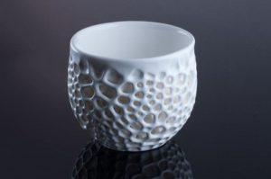 3D printed ceramic cup [Image credit: Nervous System]