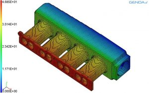 GENOA 3D Printing Simulation