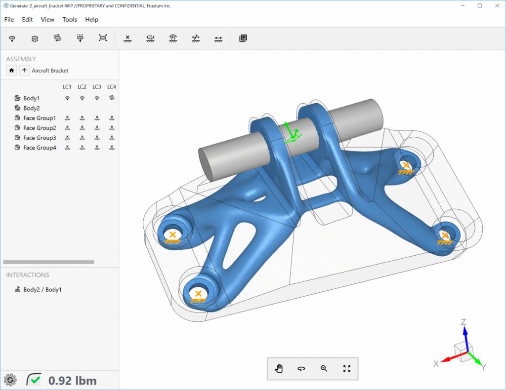 Frustum GENERATE generative design software