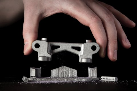 Separable Supports™ developed by Desktop Metal