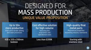 HP Metal Jet value propositions