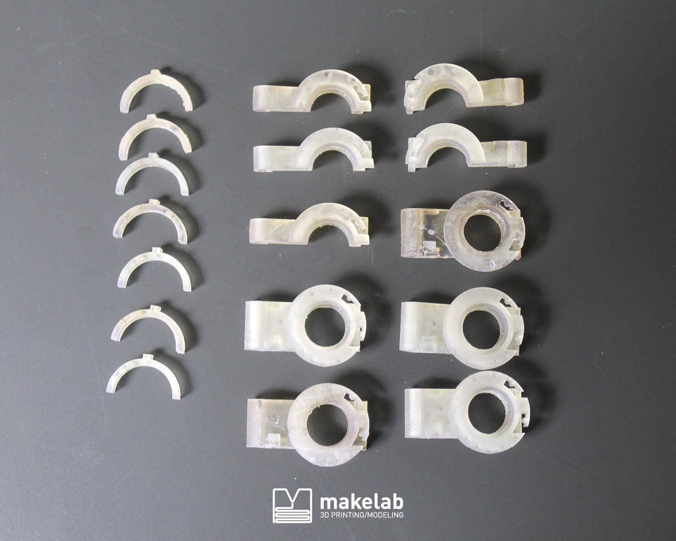 High Temperature parts by Makelab