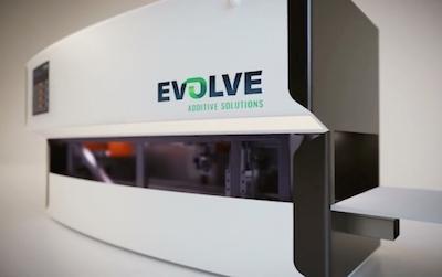 Evolve 3D printer