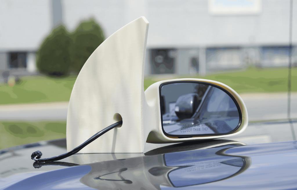 Stratasys-ASA-Auto-mirror_3D printing_FDM