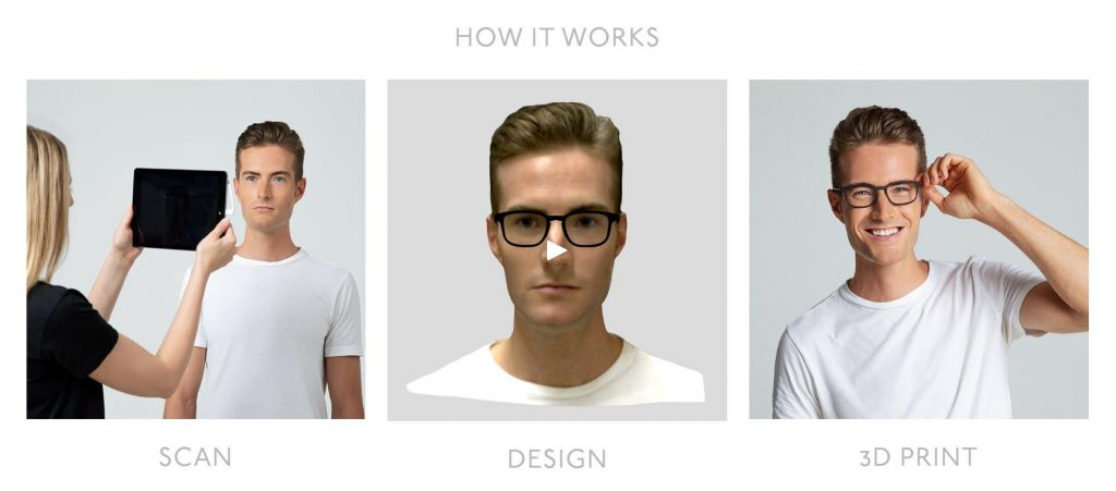 Specsy 3D printed eyewear