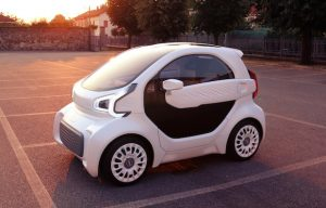 XEV's 3D-printed electic car