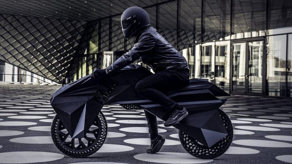 BigRep's 3D printed NERA motorcycle