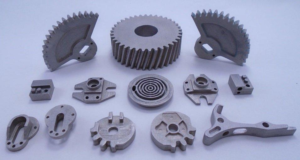 binder jetting 3d printed parts