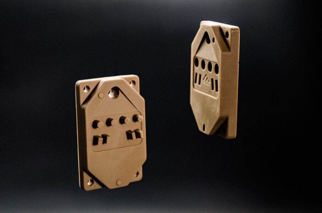 Composite parts 3D printed by Fortify