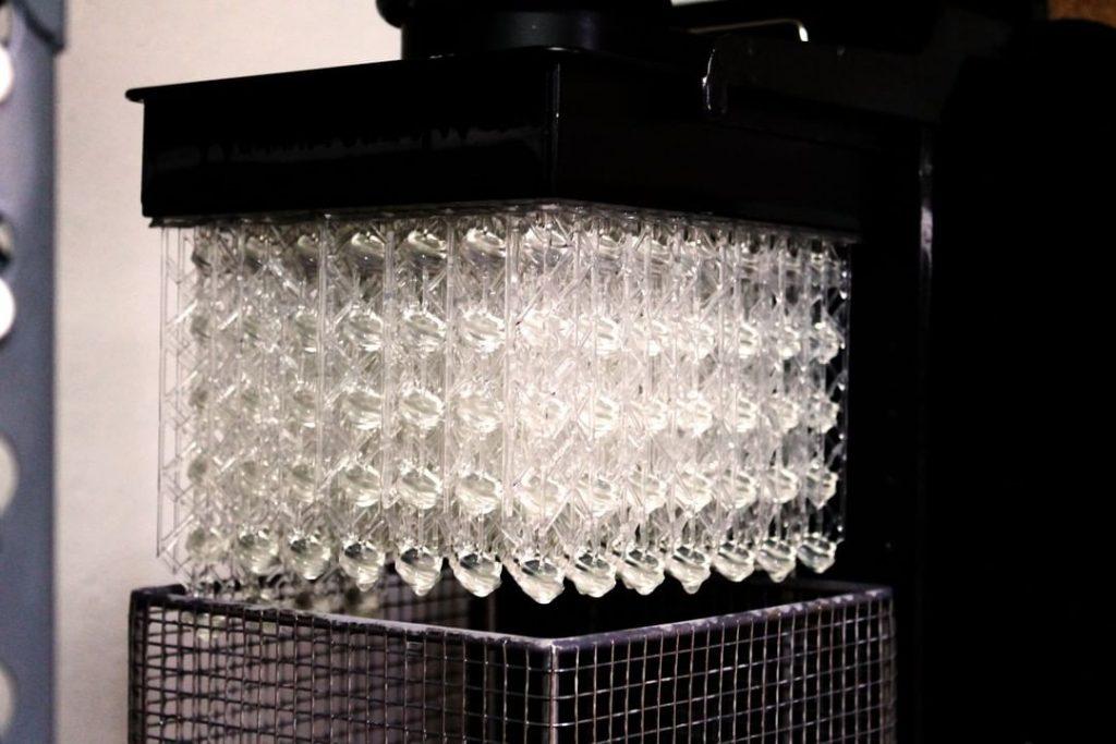 SLA 3D printing at Makelab