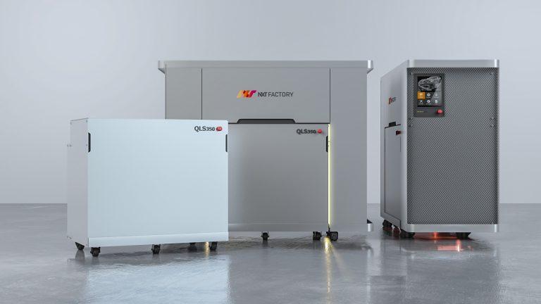 Das 3D-Drucksystem von NXT Factory verwendet die unternehmenseigene Quantum Laser Sintering ™ -Plattform