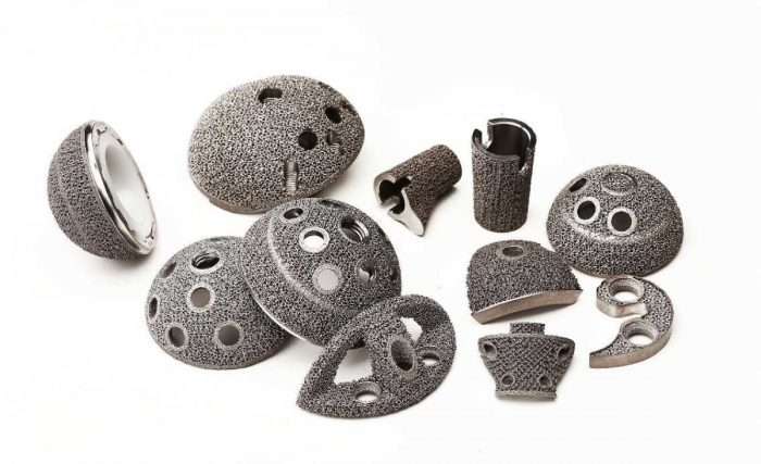 Arcam 3D-printed products