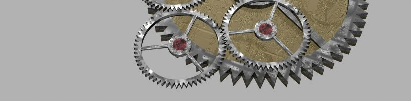 3D models of cogs that could easily printed with DMLS