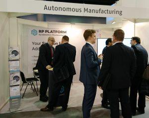 Autonomous Manufacturing RP Platform Stand