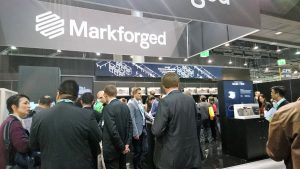 Markforged's booth at formnext 2017