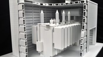 SLS Architectural Model Produced by Paragon Rapid Technologies