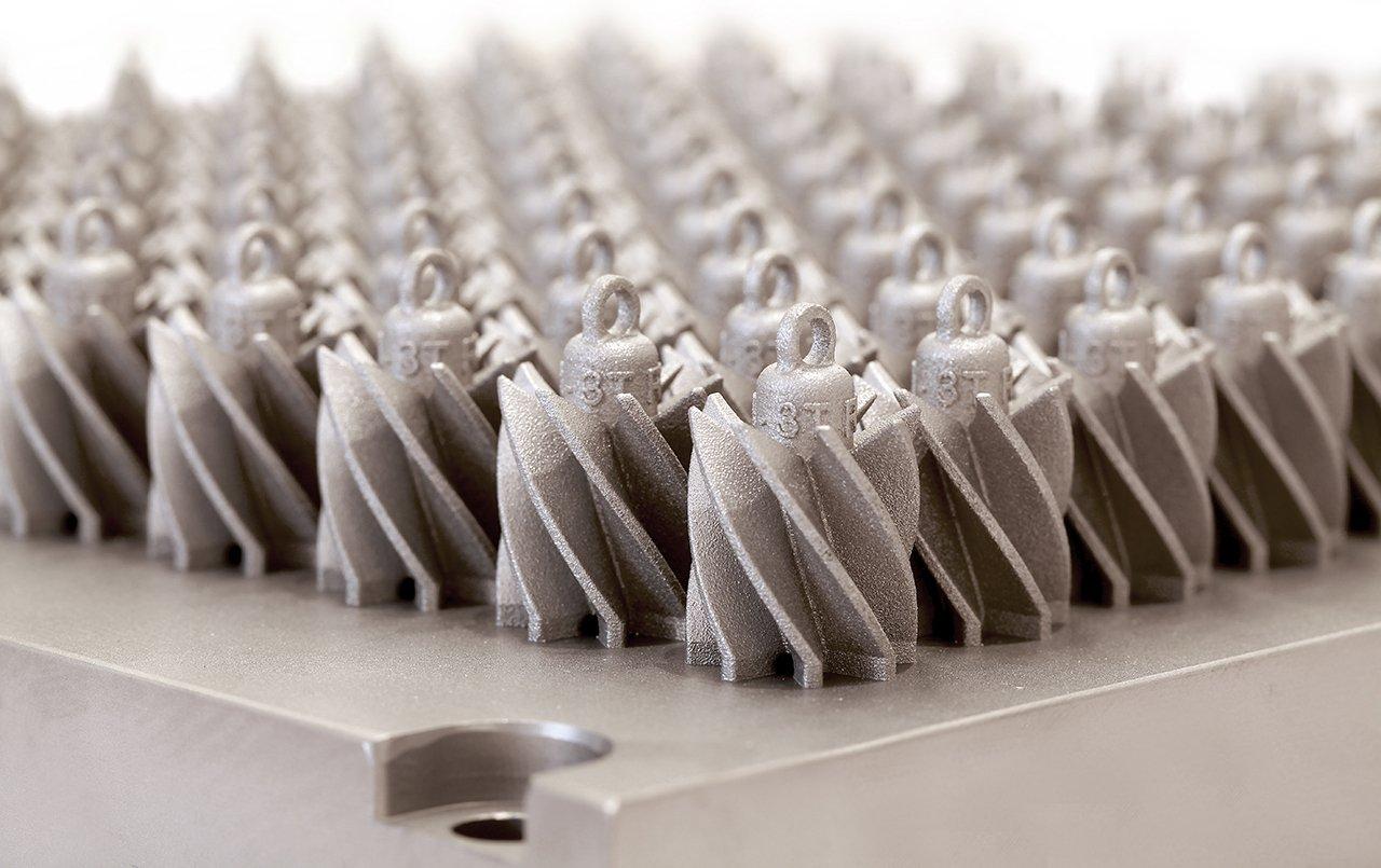 3T RPD 3D-printed part