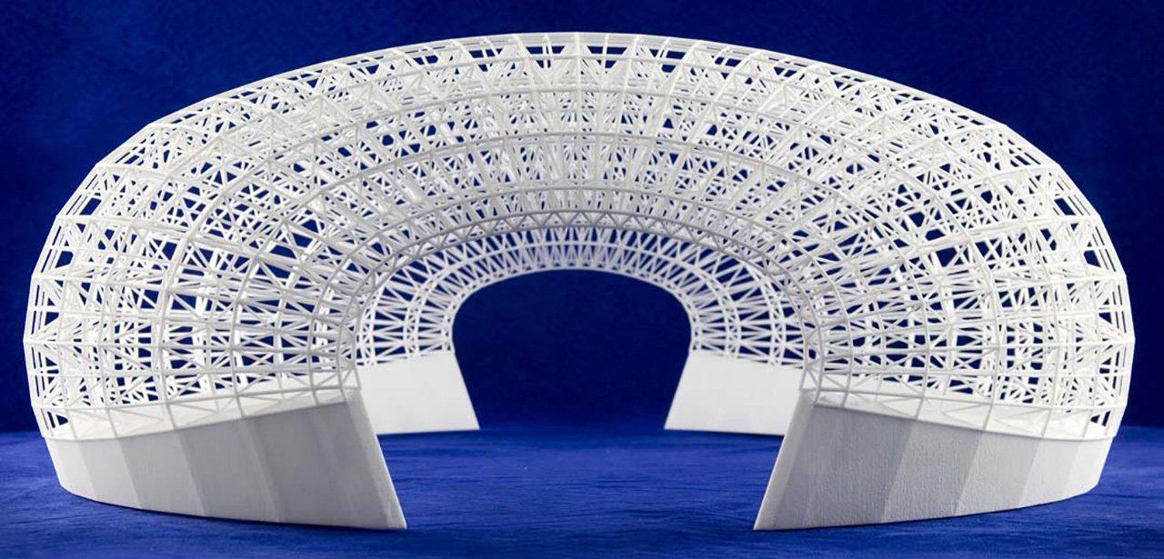 3T RPD 3D-printed model