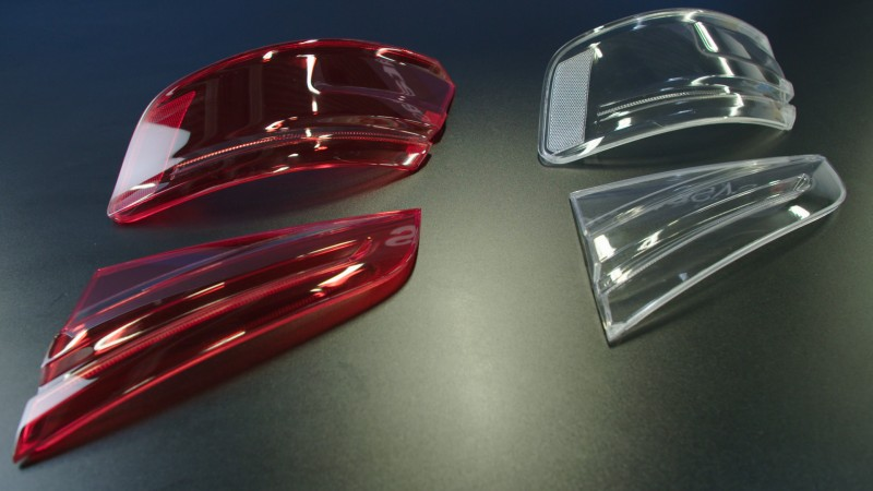audi 3d printed tail light covers