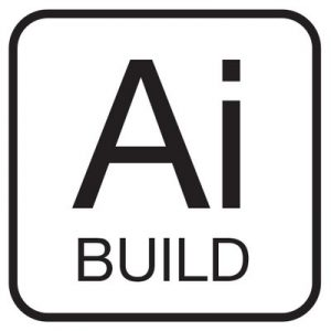 AI build logo