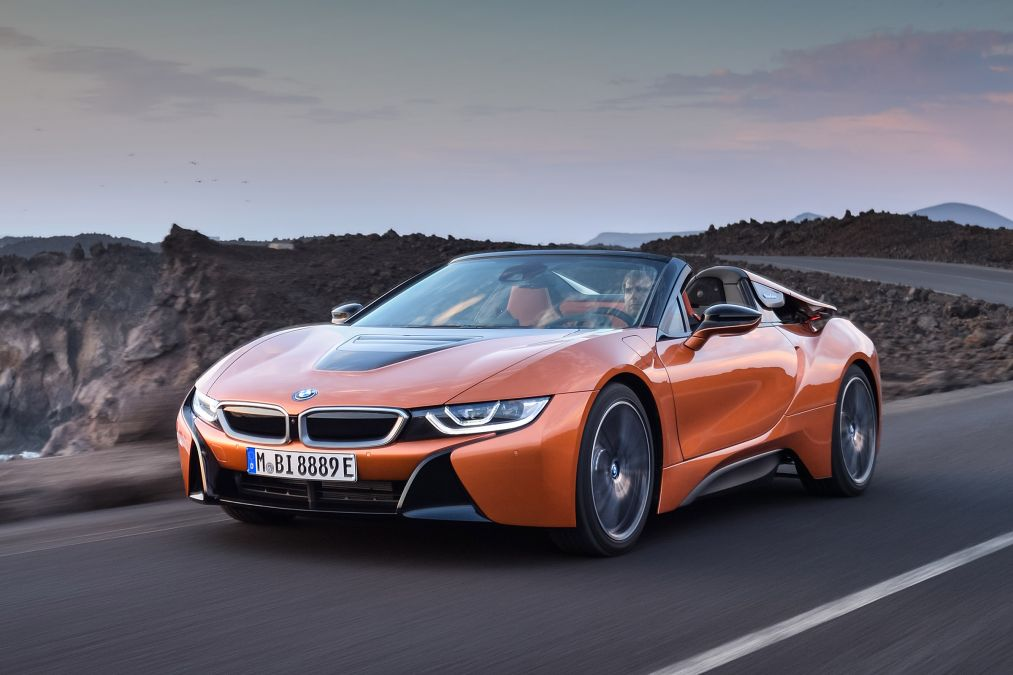 BMW i8 Roadster 3D printed soft-top roof