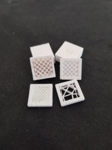 3D printed ceramic parts nanoe
