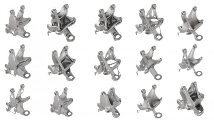 GM Autodesk generative design software