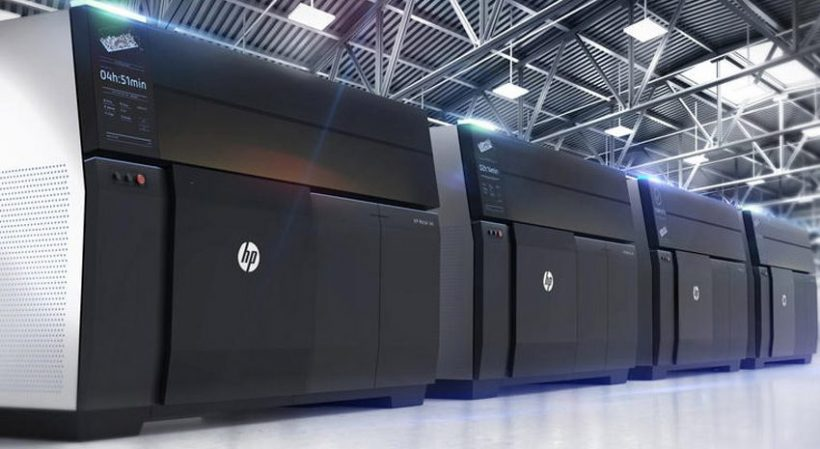 HP Metal Jet 3D Printer