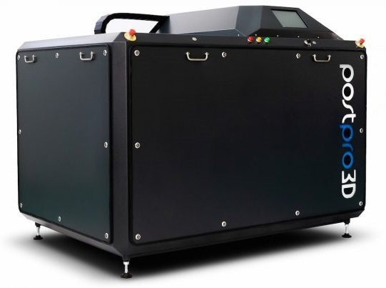 PostPro3D automated post-processing machine from AM Technologies