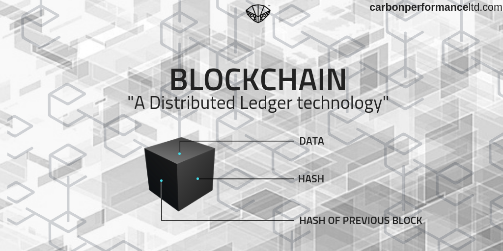 Carbon Performance Limited Blockchain technology