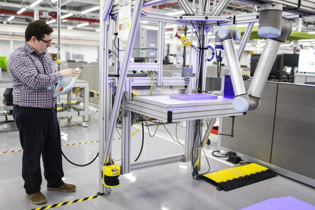 Ford Advanced Manufacturing Center Collaborative robot