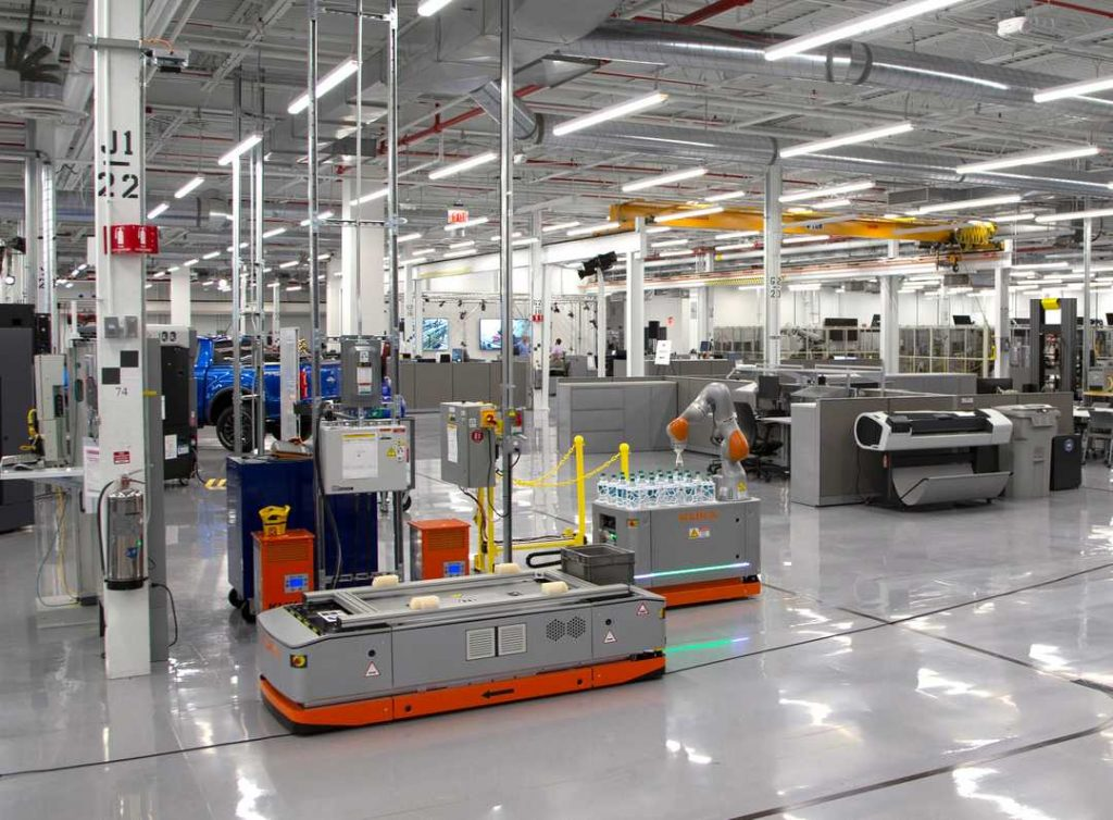 Ford's Advanced Manufacturing Center in Michigan