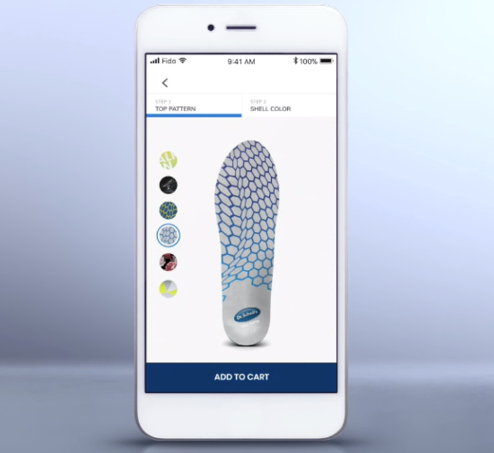 Customised_3D_printed_insoles Dr. Scholl's