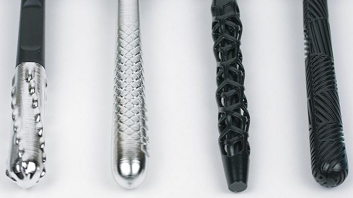 Gillette 3D printed razor handles