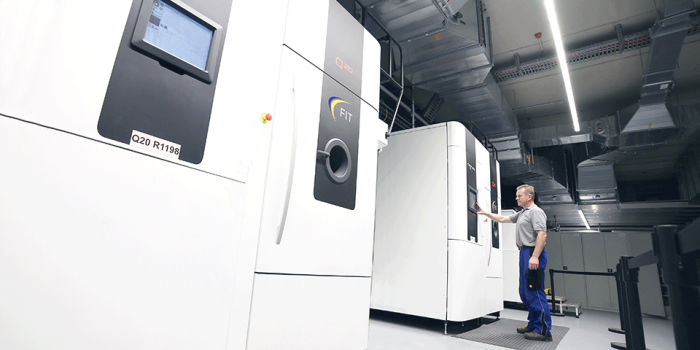 Electron Beam Melting Additive Manufacturing Machines at FIT AG