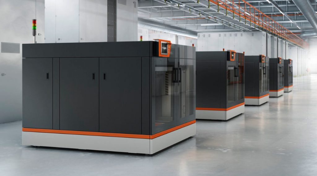 BigRep PRO 3D printers in the industrial setting