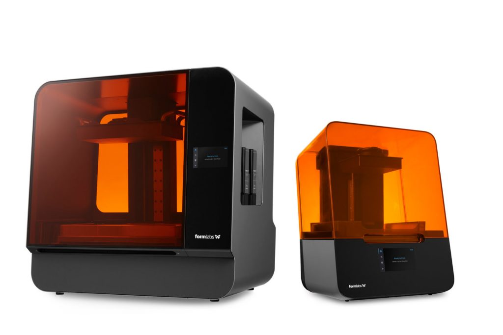 Formlabs Form 3 and Form 3L SLA 3D printers