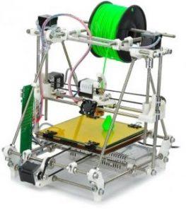 a RepRap 3D printer