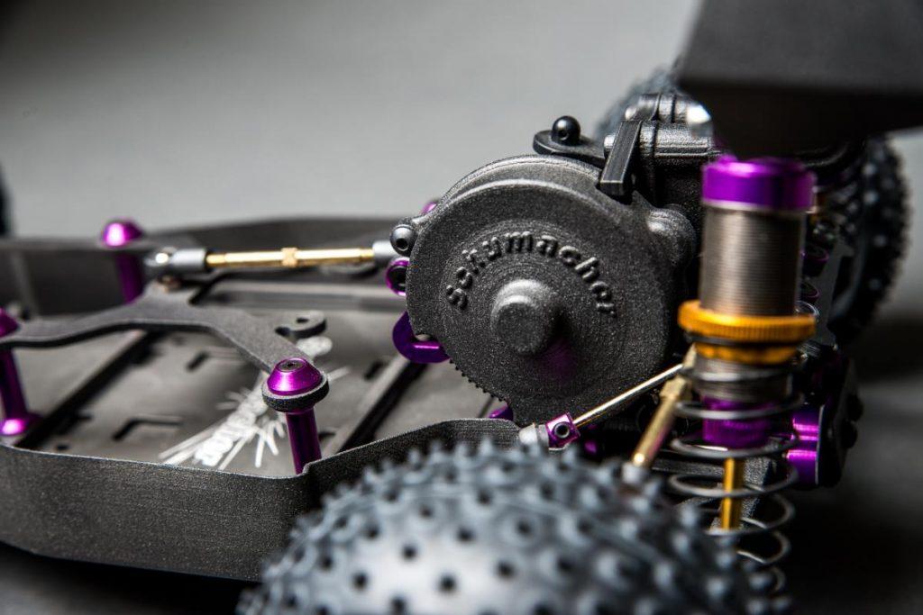 Graphite Additive Manufacturing 3D-Printed-Carbon-fibre-radio-controlled-car