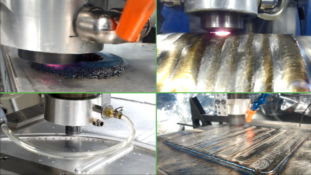 Die MELD-Technologie kann nicht nur zum Erstellen neuer Teile verwendet werden, sondern auch zum Reparieren, Beschichten oder Hinzufügen von Merkmalen zu einem vorhandenen Teil [Bildnachweis: MELD Manufacturing]