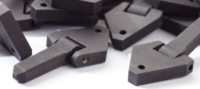3D-printed polymer parts