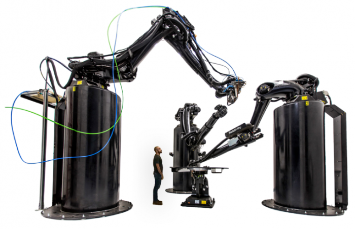 The Stargate 3D printer is designed to produce large rocket parts like fuel tanks [Image credit: Relativity Space]