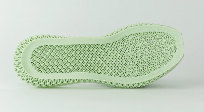 D-printed midsole by Carbon