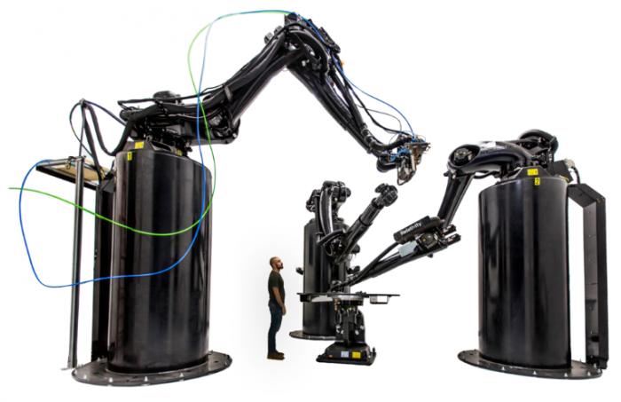 Der Stargate 3D-Drucker wurde entwickelt, um große Raketenteile wie Treibstofftanks herzustellen [Bildnachweis: Relativity Space]