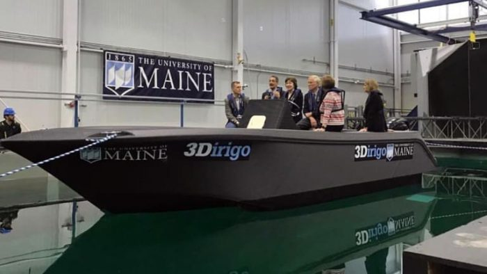 the largest 3d printed boat