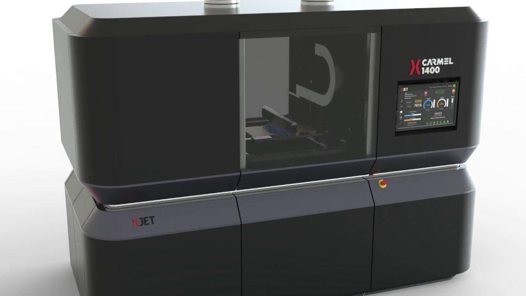 Xjet ceramic 3d printer